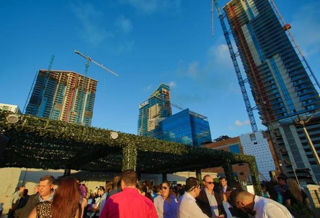 Brickell Towers Changing the Skyline