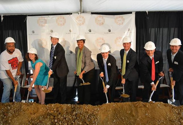 JBG Breaks Ground at 13th and U