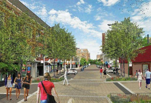 Construction Begins on Argyle Shared Street Project