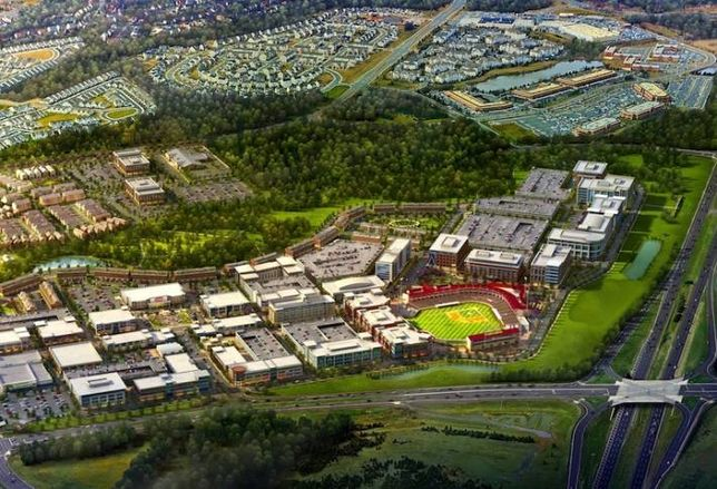 Miller & Smith Proposes 1,100 Units for Ashburn Town Center