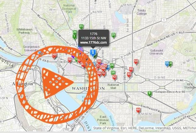 Mapped: DC's Co-Working Spaces Multiply