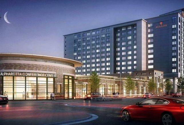 Alpharetta OK's North American Properties' Hotel/Convention Center