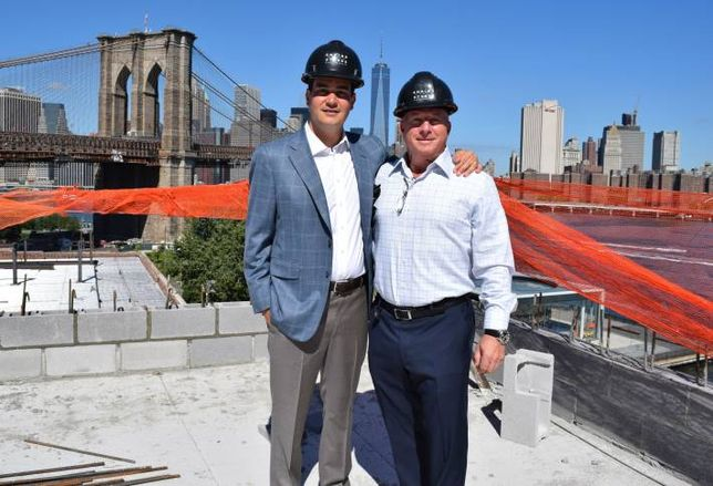 Bisnow Exclusive: A First Look at Empire Stores Rooftop Addition