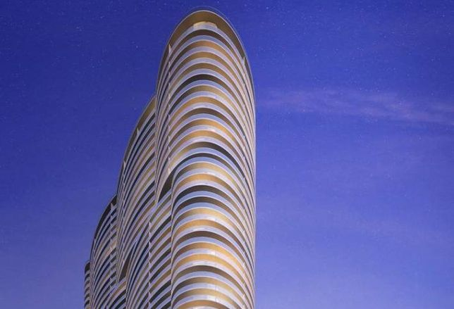 Aria on the Bay Bags $95M Construction Loan