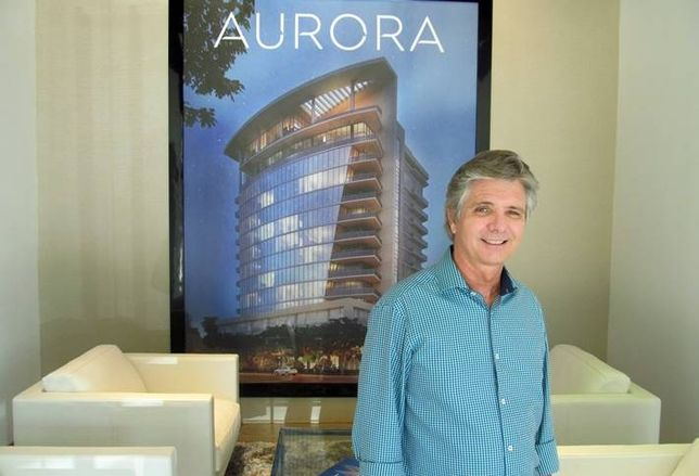Sims Builders' Chris Sims at Aurora sales office