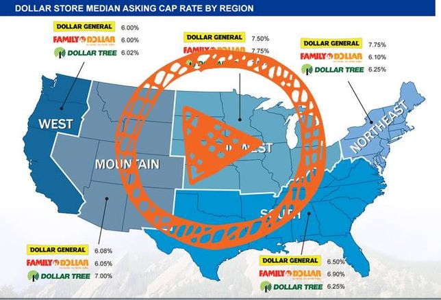 Mapped: Breaking Down Dollar Store Cap Rates, Will They Continue to Drop?