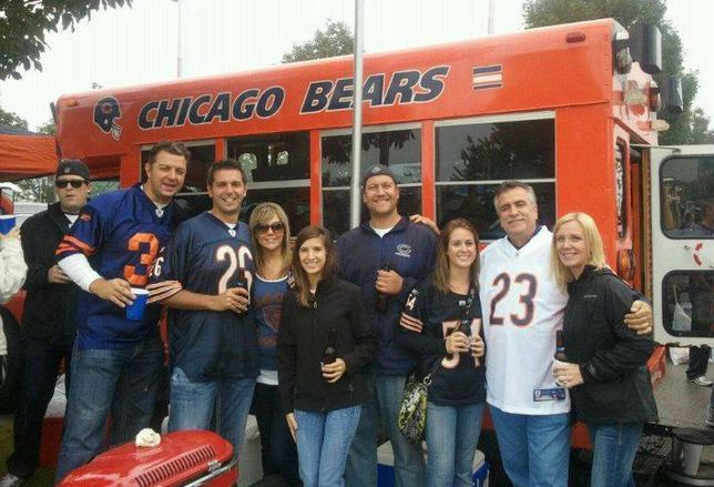 Here Are the Biggest Bears Fans in Chicago Real Estate