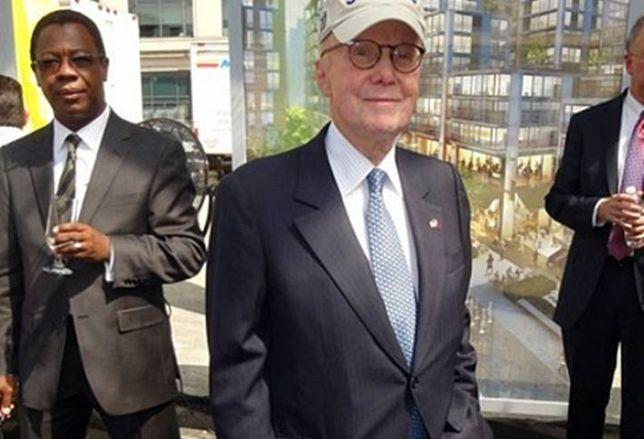 8 Starchitects Celebrate Gerald Hines' 90th Birthday