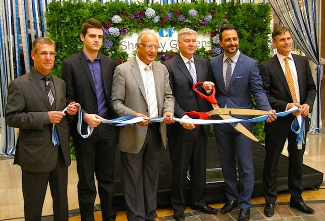 Cadillac Fairview Cuts Ribbon on Sherway Gardens Expansion