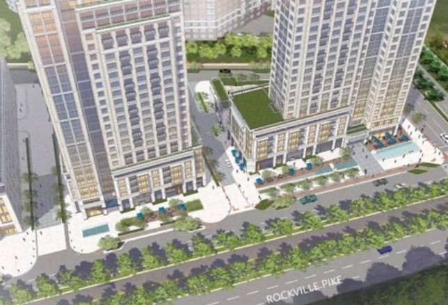 Renderings Unveiled for White Flint High-Rise