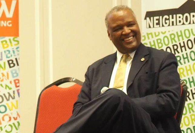 Prince George's County Executive Rushern Baker at Bisnow's 2015 Prince George's County State of the Market