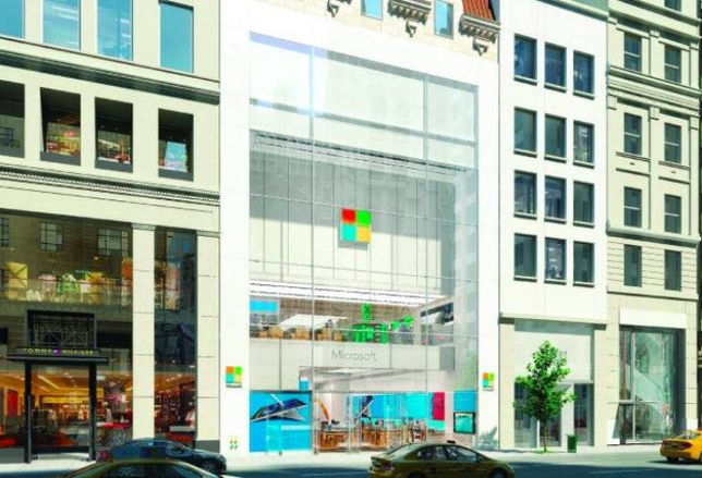 Microsoft to Open Flagship Store in NYC