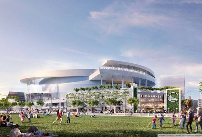 Warriors Arena in Mission Bay