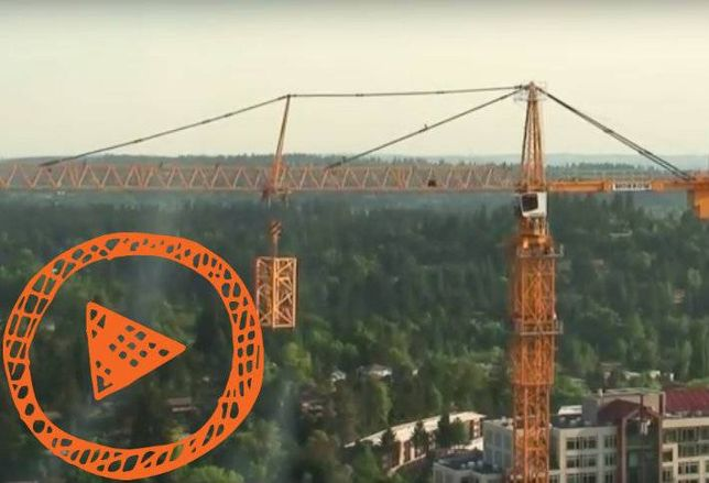 Video of the Day: Watch a Construction Crane Build Itself (Like a Transformer)