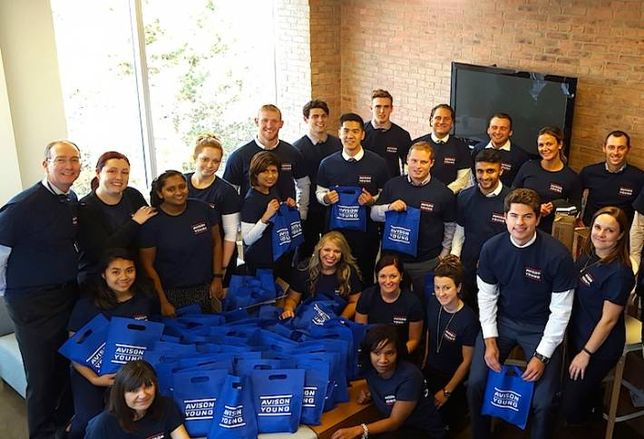 How Avison Young's Mississauga Office Gives Back
