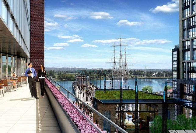 Permits Issued for The Wharf's First Office Building