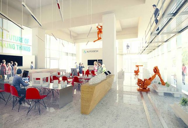 Autodesk Takes Two Floors at MaRS Discovery District