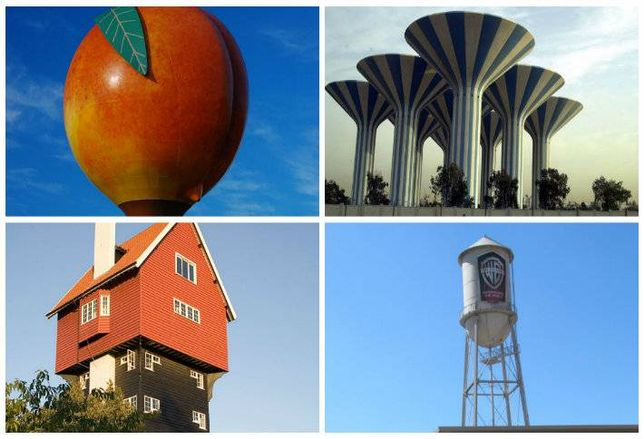 10 Coolest Water Towers