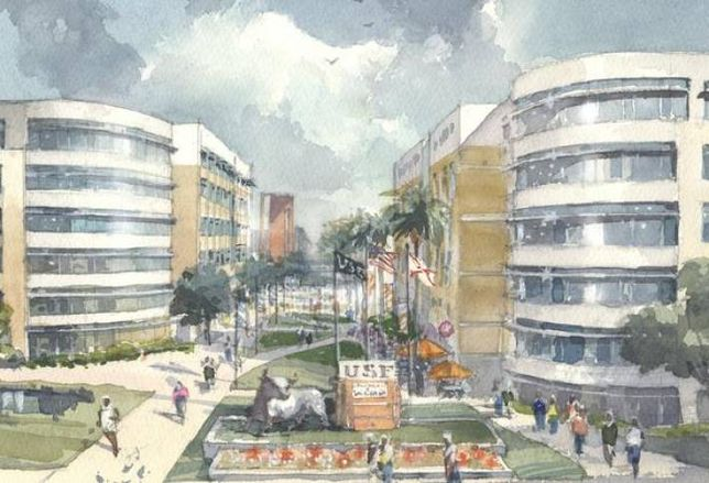 USF Partners With Capstone-Harrison Street to Develop Student Housing