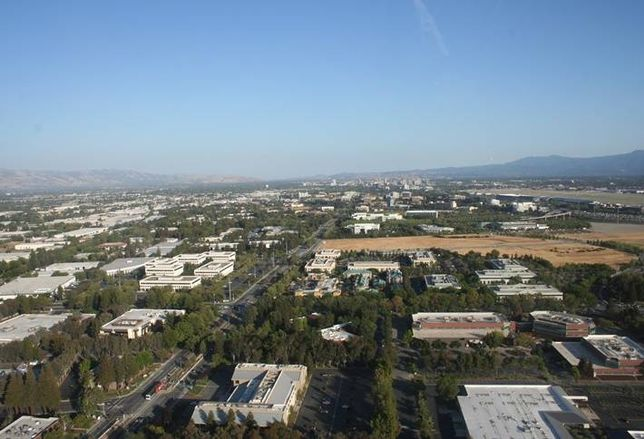 Aerial photo of North San Jose credit: City of San Jose