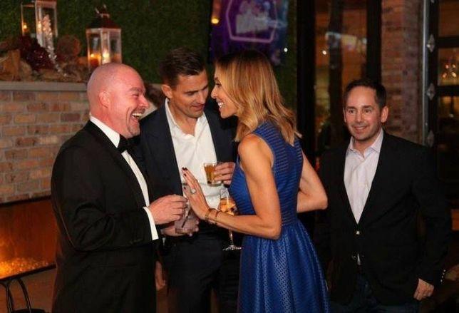 CONLON Commercial's Sean Conlon, with Bill and Giuliana Rancic