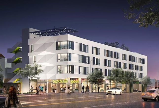 A new mixed-use development, The Crown, is planned for West Hollywood.