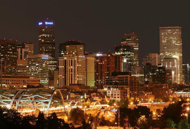 Denver Skyline Midnight