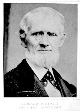 Leonard P. Smith, great-great-grandfather of Greg Smith (UrbanVisions)