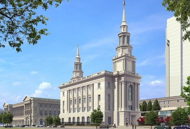 Philly Mormon Temple Tops Off With Angel Moroni