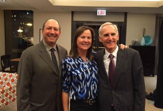 Golub Executive Vice President Lee Golub, Senior Vice President Paula Harris and President and CEO Michael Newman