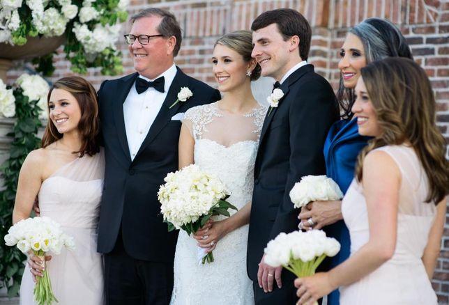 Tim Relyea, Cushman & Wakefield, at daughter's wedding