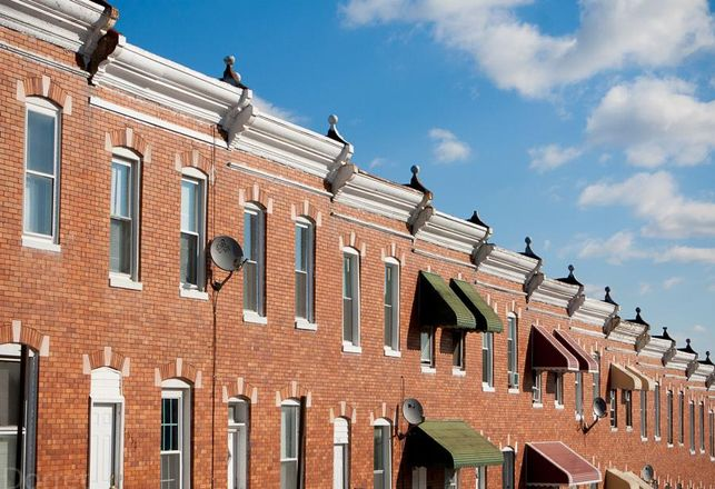 south baltimore rowhomes