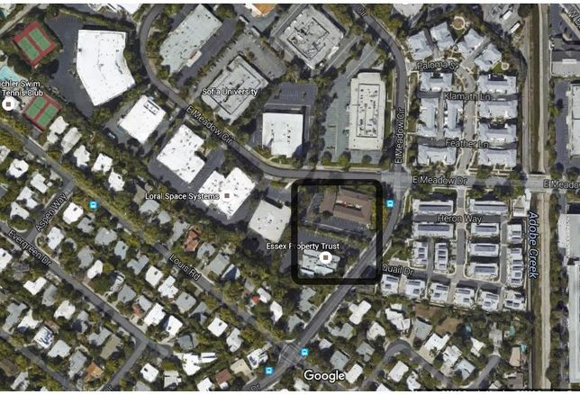 Google buys two Palo Alto buildings from Essex Property Trust
