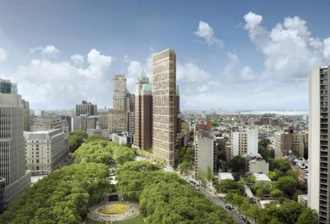 Hudson Files Plans For Brooklyn Heights Library Redevelopment
