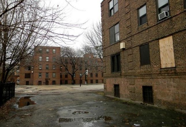 The historic Lathrop Homes redevelopment could lose historic tax credits because the team redeveloping the site aren't preserving enough of it.
