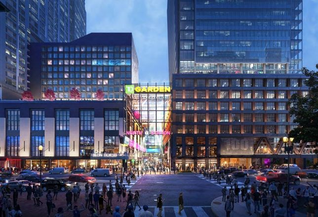 The Hub (Former Boston Garden) Breaks Ground