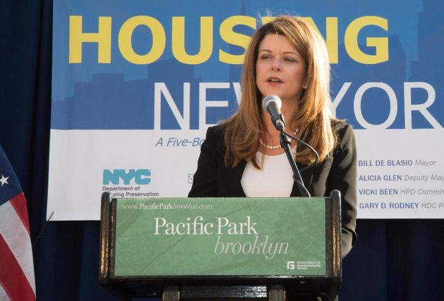 Bisnow Exclusive: MaryAnne Gilmartin On Pacific Park And The Future Of Modular Construction