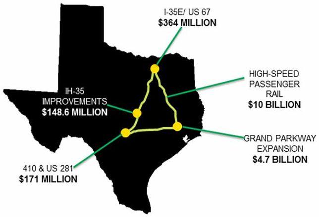 Tx DOT Earmarks $1.3B To Ease Traffic Congestion