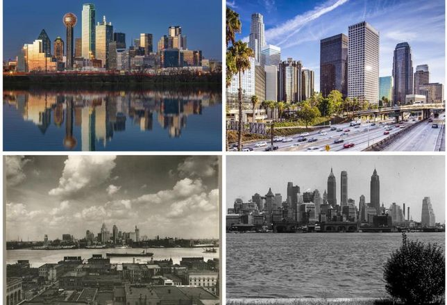 Skylines, Then & Now: What These Iconic Skylines Looked Like Half A Century Ago