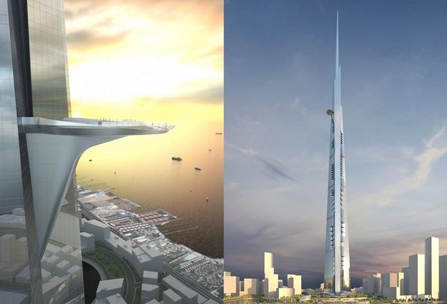 Jeddah's Kingdom Tower in Saudi Arabia credit: Jeddah Economic Company/Adrian Smith + Gordon Gill Architecture