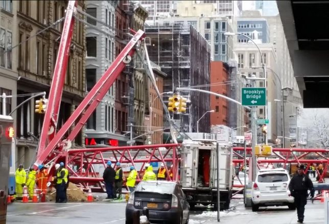 Man Injured In Tribeca Crane Collapse Sues City For $30M