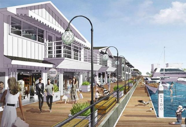 Harbor-Side Newport Beach Shopping Village Gets Makeover And New Tenants