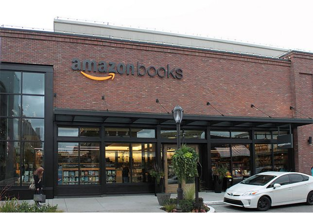 Amazon Books To Open On Georgetown Block Once Home To Barnes & Noble