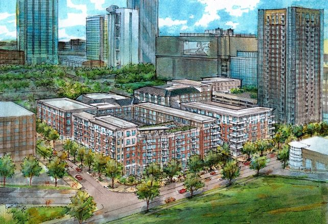 Post Breaks Ground On $96M Apartments Downtown