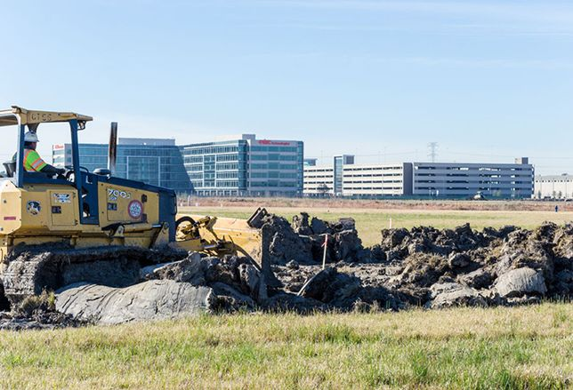 Crews Break Ground At Redemption Square