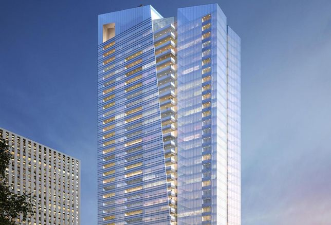 Century City's Ten Thousand Apartment Building Revealed
