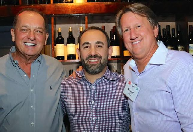 Steven Moreira, 2016 president of CCIM Institute; Yan Khamish, managing director of Ten-X's Business Development Brokerage Channel; and Michael Fay, managing director of Avison Young's Miami office.