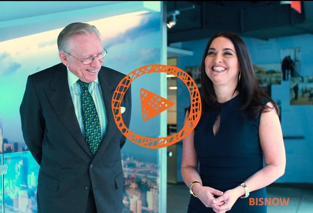 BisnowTV: One-On-One With Larry Silverstein - Future of the World Trade Center (Part 1)