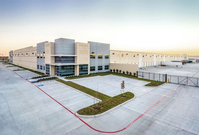 Carson Builds 613k Spec Industrial Park