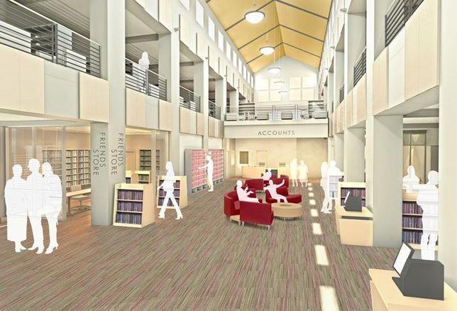 Carlsbad City Library (Dove Library) credit: City of Carlsbad